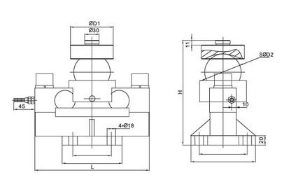 柯力BTA-5T称重传感器