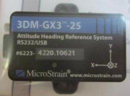 【3DM-GX3-25TMAHRS】美国MicroStrain3DM-GX3-25TMAHRS陀螺仪