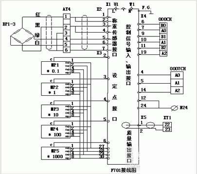 中称重传感器接线图为例对其接线原理进行简单的分析