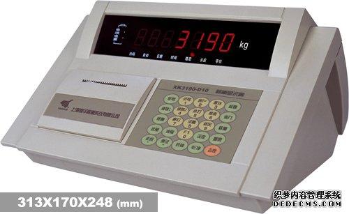 耀华XK3190―D10称重仪表