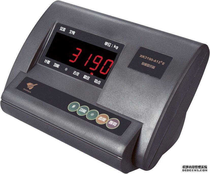 耀华XK3190-A12+台秤仪表