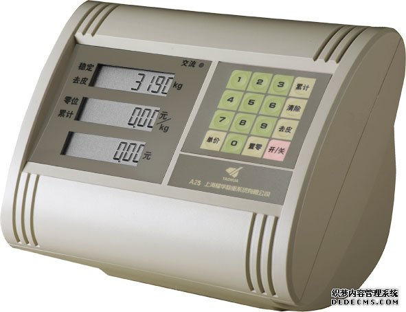 耀华XK3190-A25台秤仪表