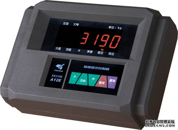 耀华XK3190-A12+EK3台秤仪表