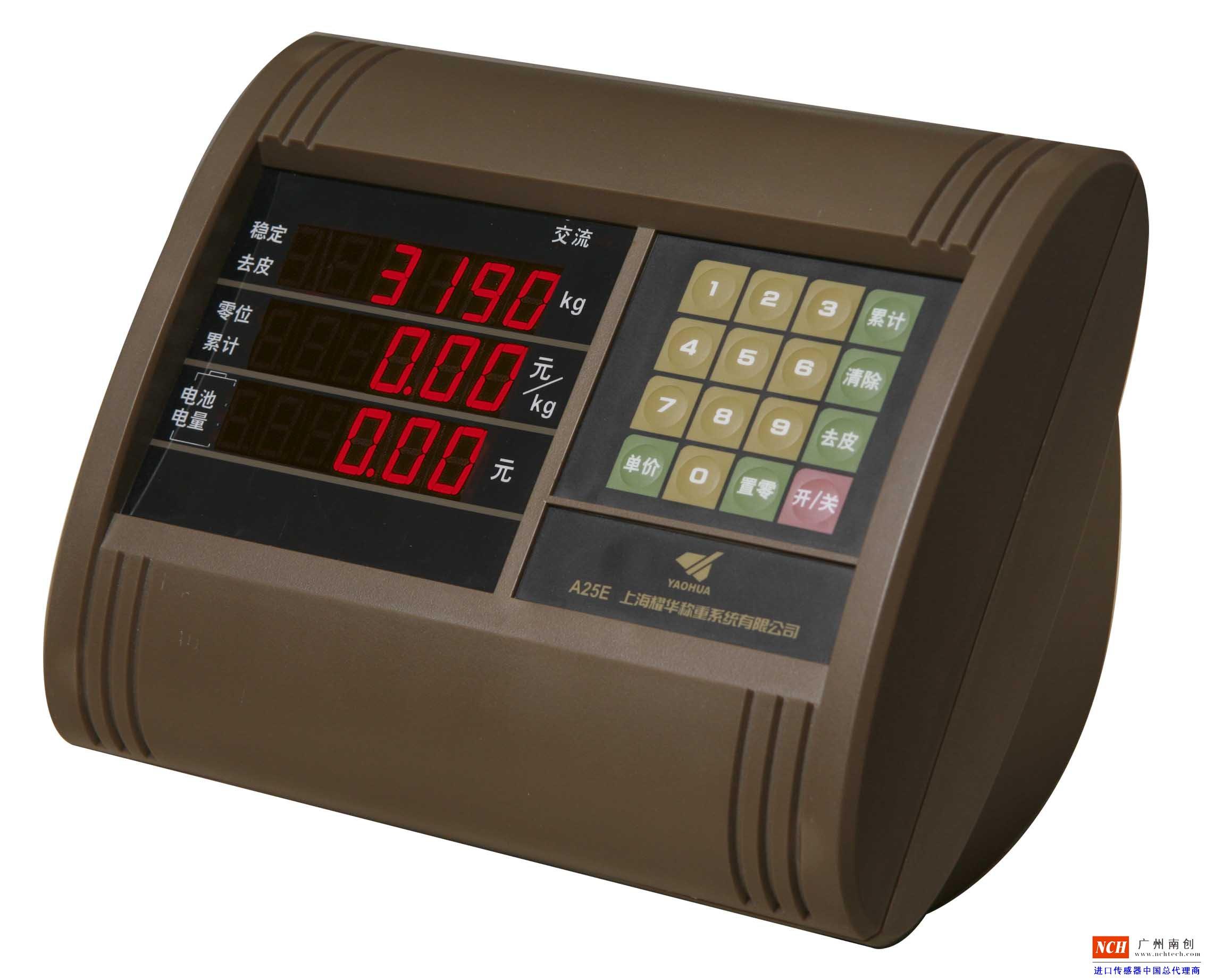 耀华XK3190―A25E台秤仪表_XK3190―A25E称重显示器