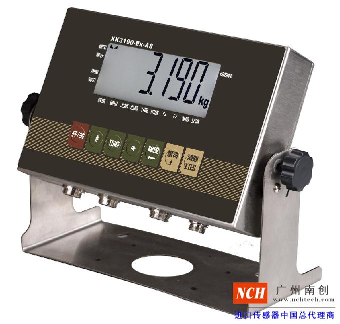 XK3190-EX-A8防爆仪表_XK3190-EX-A8显示器